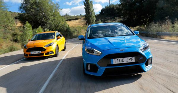Comparativa: Ford Focus RS Vs. Focus ST